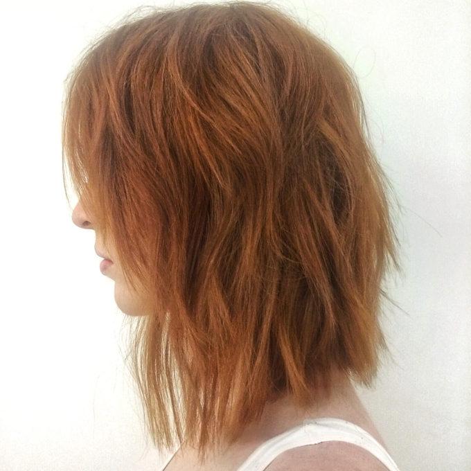 Middle Length Long Layers On Medium Length Hair 88